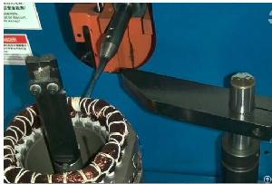 stator coil side lacing coils binding machine