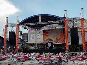 Aluminum Concert Stage Lighting Truss