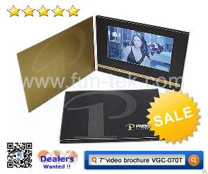 Newest Customized Touch Screen Advertising Brochure Video Card Wholesale From China
