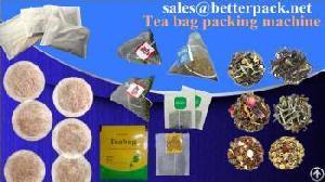 tea packing machine supplier