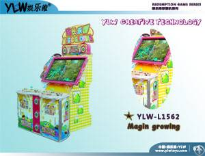 Coin Magin Growing, Coin Operated Lottery Games, Redemption Ticket Machine, Indoor Arcade Games