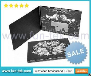 China Factory Custom Lcd Video Brochure Card Mailer Book For Marketing And Promotional Campaigns