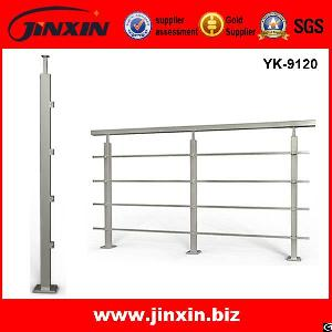 Hot Sale Stainless Steel Square Post Stair Handrail