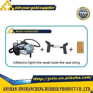 auto combine d inflator light tire repair tools seal string