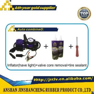 Auto Combine G Inflator Have Light Valve Core Removal Tire Sealant