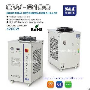 Industrial Chiller For Water Cooled Uv System Cw-6100