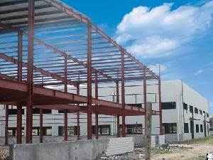 span pre engineered steel structure warehouse