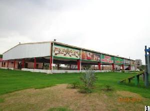 Prefab Light Steel Structure Building For Food Market