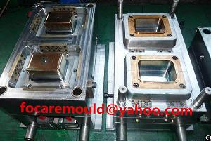Disposable Thin Wall Container Mold , Square Tub Mould , Rectangular Iml Box Molds China