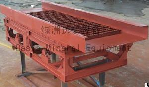 vibrating golds sluice alluvial gold extraction equipment sheet machine vibration