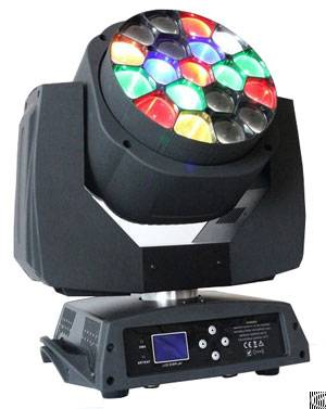 Moving Head Beam, Led Amazing Hawkeye With Zoom, 19 15w 4in1 Led Moving Head Stage Light Phn042