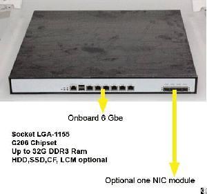 xeon network appliance 6 gbe ports rackmount utm firewall hardware plarform