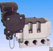 konan explosion proof drip 5 port solenoid valves mvs2f n mvd2f spool valve