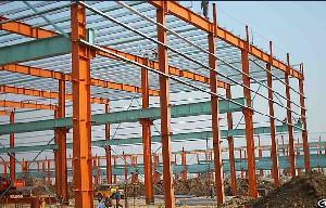 prefabricated steel structure warehouse framework