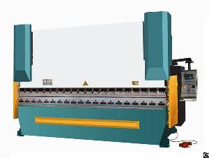 Wc67k-800 3200 Cnc Hydraulic Press Brake Folding Machine / Hydraulic Press Machine Bending Brake