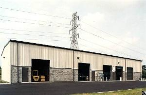 Prefabricated Light Steel Structure Commercial Building