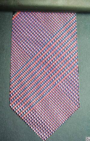 smooth checkered necktie ckt 4031