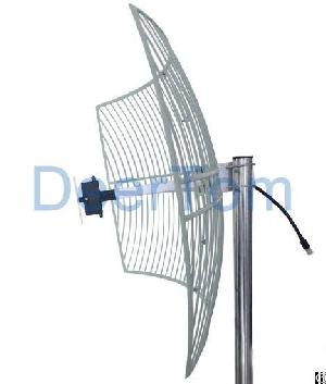 1920-2170mhz 3g Umts Outdoor Directional Grid Parabolic Antenna 21dbi High Gain Router Repeater Zte