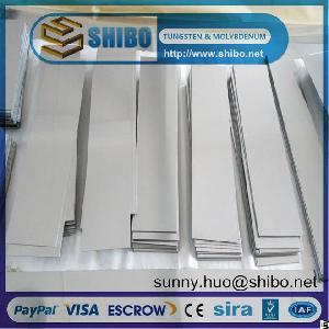 High Purity Tungsten Sheet, Tungsten Plate, W Sheet