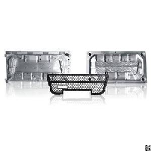 plastic auto grille injection mold