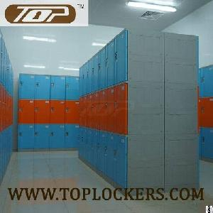 triple tier abs plastic cabinets blue