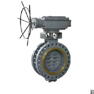 bi directional metal seated butterfly valve power station