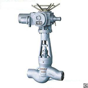 The Power Station Electric Welding Cut-off 0f Globe Valve