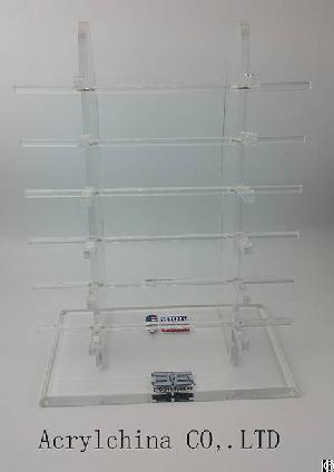 High Quality Clear Acrylic Glasses Display Rack