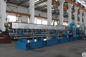 100kg h 600rpm parallel twin screw extruder filler masterbatch machine pp granules