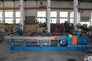 High Torque Corotating 600rpm Parallel Twin Screw Plastic Extruder Machine With Low Price