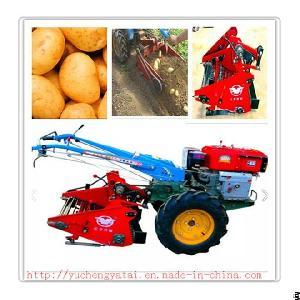 Good Quality Mini Potato / Sweet Potato Harvester / Harvesting Machine For Walking Tractor