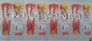 Max Plus Matte Finish Plastic Adhesive Labels