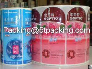 Pe Adhesive Label Stickers For Softto Shampoo Bottles