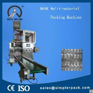 Granules Packaging Machine Automatically For Multiple Materials