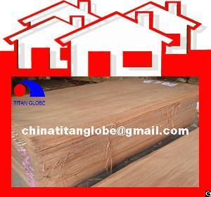 rotary cutting wood veneer plywood face