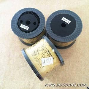 Wire Cutting Edm Consumable Hard Brass Wire 0.20mm 0.25mm