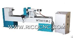 wood lathe cnc woodturning machine wtm1530 2