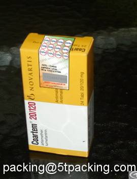 Scratch Off Printed Adhesive Secure Labels In Drug Box Sealing