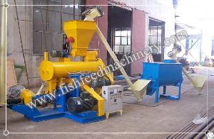 1-1.2 T / H Fish Feed Production Line