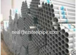 pre galvanized steel water structural pipe