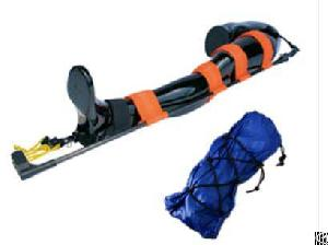 demo medical orthopedic traction frame equipment aluminum alloy knee splint machine
