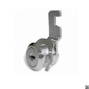 Mail Box Cam Lock, Zinc Alloy, Nickel Plating