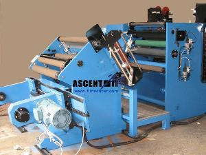 ttr thermal transfer ribbon slitter rewinder plastic film slitting rewinding machine