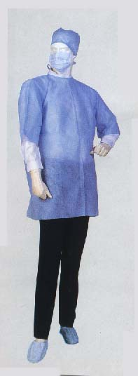 Non Woven Disposable Isolation Gowns