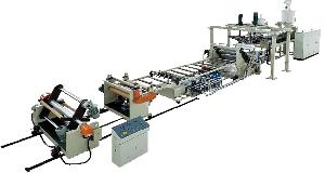 Pet Single Layer And Multi-layer Sheets Extrusion Or Co-extrusion Line