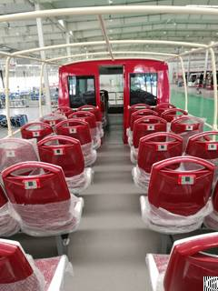 multi languages audio video system sightseeing buses