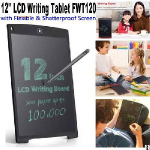 durable ewriter 12 boogie lcd writing tablet memo pad fwt120 kids gifts