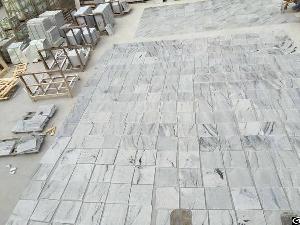 Viscount White Polished Granite Tiles