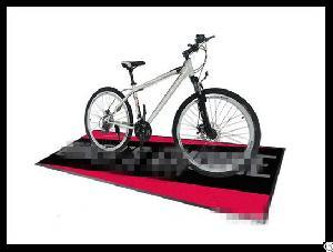 Bicycle And Motorcycle Printed Logo Carpet Mat