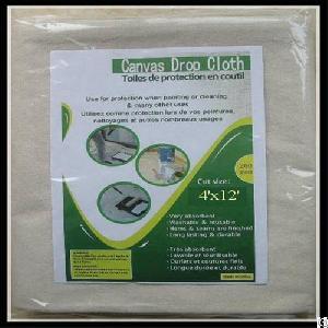 8oz heavy duty canvas drop cloth 9 ft x 12 wholesale
